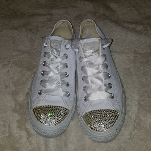 f26a90879 Converse Shoes | Custom Bling Sneakers | Poshmark
